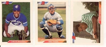 1992 Bowman Baseball Partial Set (NM-MT)