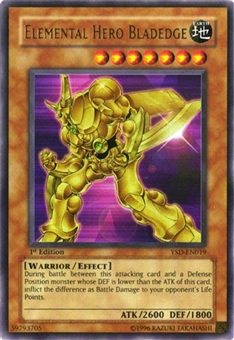 Yu-Gi-Oh SD Elemental Hero Bladedge Ultra Rare 1st Edition YSD-EN019