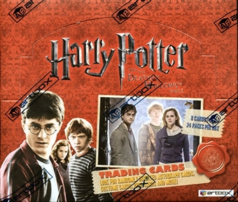 Harry Potter and the Deathly Hallows: Part 1 Hobby Box (2010 Artbox)