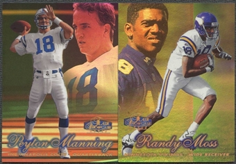 1998 Fleer Showcase Row 2 Football Complete Set (NM-MT Condition)