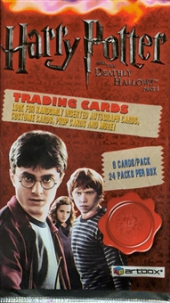Harry Potter and the Deathly Hallows: Part 1 Hobby Pack (2010 Artbox)