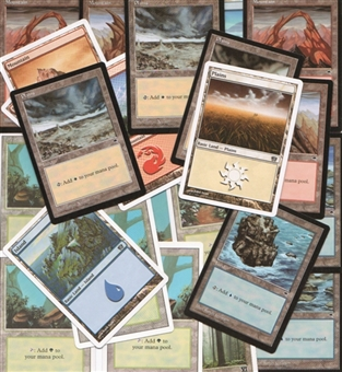 Magic the Gathering Magic the Gathering 200 Card Land Lot