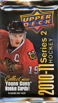2010/11 Upper Deck Series 2 Hockey Hobby Pack