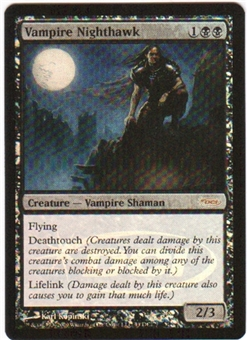 Magic the Gathering Promo Single Vampire Nighthawk FOIL