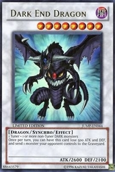 Yu-Gi-Oh Promo Single Dark End Dragon Ultra Rare (JUMP-EN044)