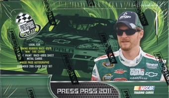 2011 Press Pass Racing Hobby Box