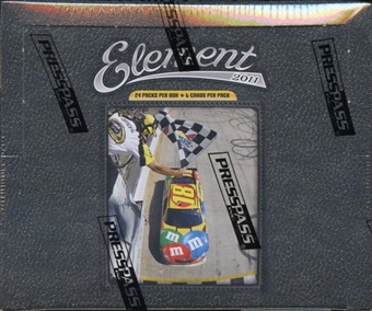 2011 Press Pass Element Racing Hobby Box
