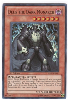 Yu-Gi-Oh Starstrike Blast Single Delg the Dark Monarch Super Rare