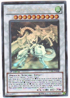 Yu-Gi-Oh Starstrike Blast Single Shooting Star Dragon Ghost Rare