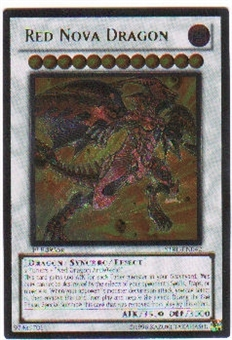 Yu-Gi-Oh Starstrike Blast Single Red Nova Dragon Ultimate Rare