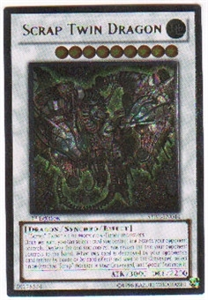Yu-Gi-Oh Starstrike Blast Single Scrap Twin Dragon Ultimate Rare