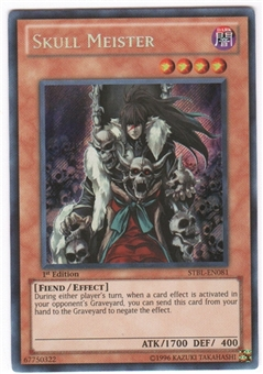 Yu-Gi-Oh Starstrike Blast Single Skull Meister Secret Rare