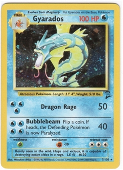 Pokemon Base Set 2 Single Gyarados 7/130