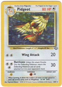 Pokemon Jungle Single Pidgeot 8/64 - NEAR MINT (NM)