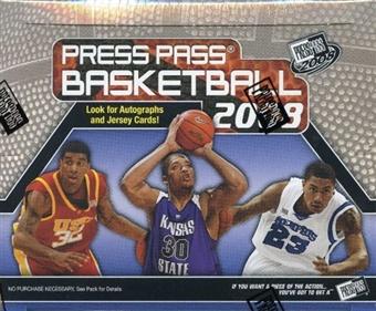 2008/09 Press Pass Basketball 24-Pack Box (Rose and Love)