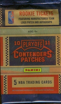 2010/11 Playoff Contenders Patches Basketball Hobby Pack