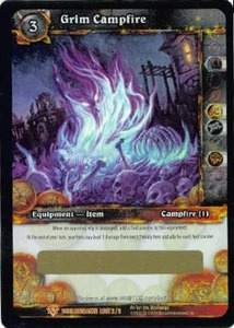 WoW Worldbreaker Single Grim Campfire Unscratched Loot Card