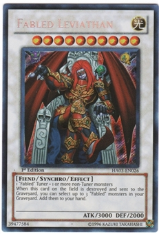 Yu-Gi-Oh Hidden Arsenal 3 Single Fabled Leviathan Secret Rare