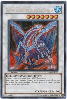 Yu-Gi-Oh Hidden Arsenal 3 Single Gungnir, Dragon of the Ice Barrier Secret Rare