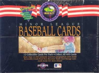 1992 Classic Best Minor League Baseball Hobby Box