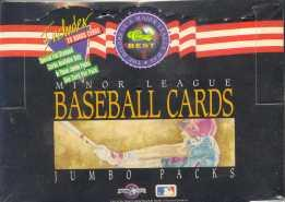 1992 Classic Best Minor League Baseball Jumbo Box
