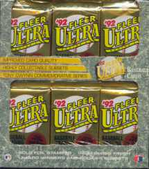 1992 Fleer Ultra Series 1 Baseball Retail Box