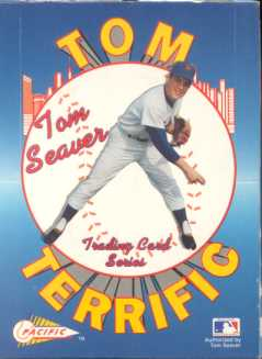 1992 Pacific Tom Terrific Seaver Baseball Hobby Box