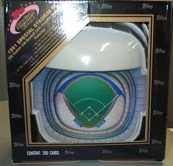 1992 Topps Stadium Club Dome Baseball Factory Set
