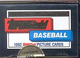 1992 Topps Gold Traded & Rookies Baseball Factory Set
