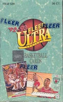 1992/93 Fleer Ultra Series 1 Basketball Hobby Box