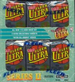1992/93 Fleer Ultra Series 2 Basketball Jumbo Box