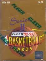 1992/93 Fleer Series 2 Basketball Hobby Box