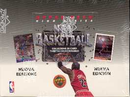 1992/93 Upper Deck French Hi # Basketball Hobby Box