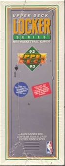 1992/93 Upper Deck Locker Low # Basketball Hobby Box