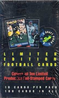 1992 Classic Draft Picks Football Hobby Box