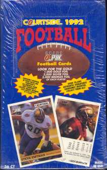 1992 Courtside Football Hobby Box