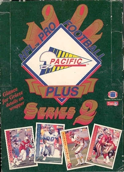 1992 Pacific Plus Series 2 Football Hobby Box
