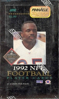 1992 Pinnacle Football Hobby Box