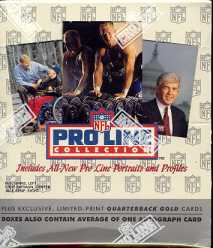 1992 Pro Line Football Hobby Box