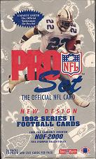 1992 Pro Set Series 2 Football Hobby Box