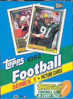 1992 Topps Series 1 Football Hobby Box