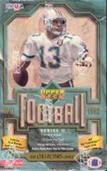 1992 Upper Deck Series 2 Football Hobby Box