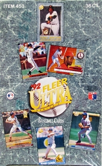 1992 Fleer Ultra Series 1 Baseball Hobby Box
