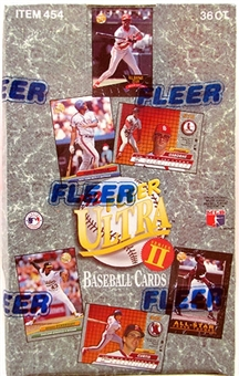 1992 Fleer Ultra Series 2 Baseball Hobby Box