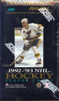1992/93 Pinnacle U.S. Hockey Hobby Box