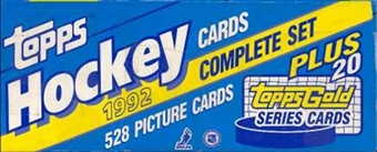 1992/93 Topps Hockey Factory Set