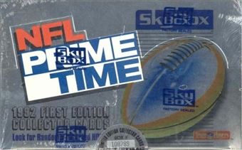 1992 Skybox Primetime Football Hobby Box
