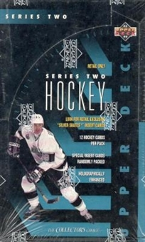 1993/94 Upper Deck Series 2 Hockey 36 Pack Box