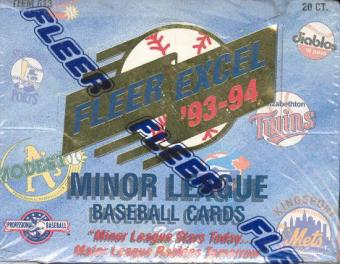 1993/94 Fleer Excel Minor League Baseball Jumbo Box
