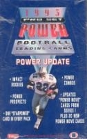 1993 Pro Set Power Update Football Hobby Box